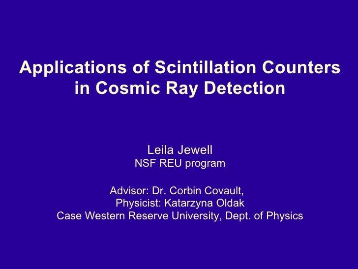 Leila Jewell Presentation