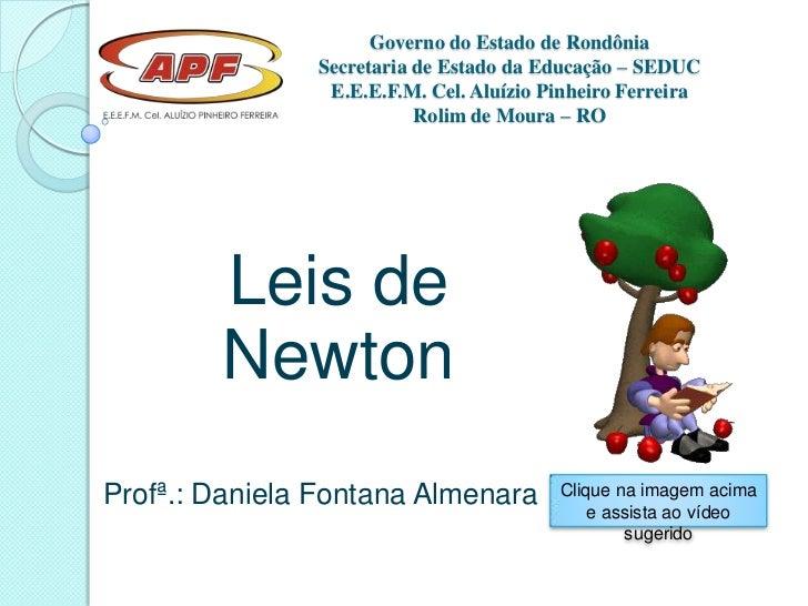 Governo do Estado de Rondônia               Secretaria de Estado da Educação – SEDUC                E.E.E.F.M. Cel. Aluízi...
