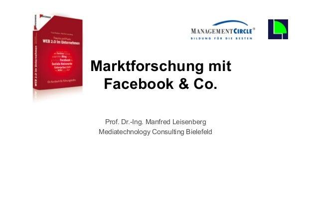 0                                      Marktforschung mit                                       Facebook & Co.            ...