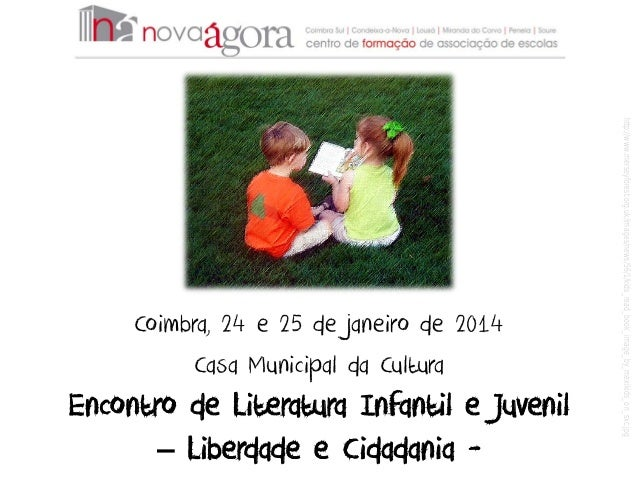 Leitura, Tecnologias e Liberdade - Coimbra, 25 de janeiro de 2014