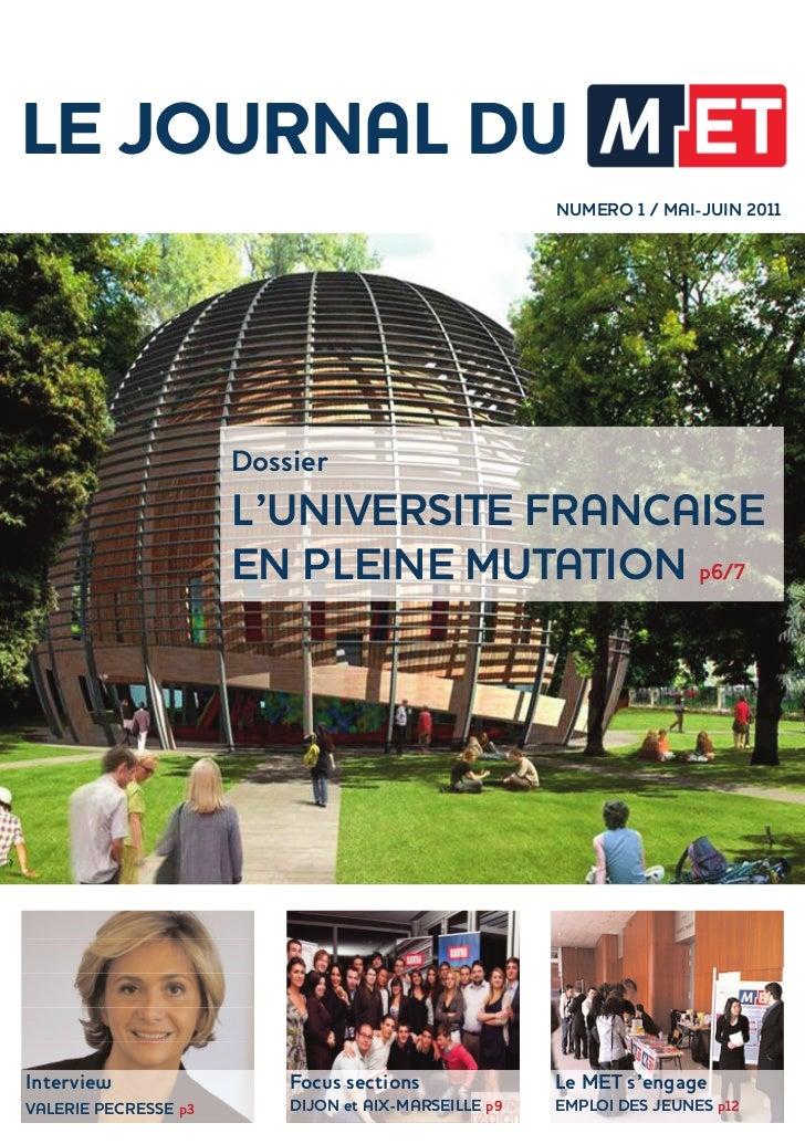 Le journal n°1 mai juin 2011
