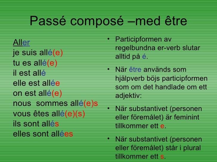 Rencontre pa svenska