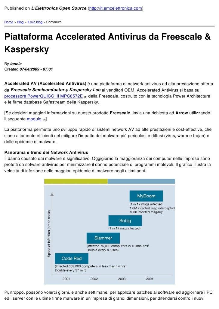 Published on L'Elettronica Open Source (http://it.emcelettronica.com)   Home > Blog > Il mio blog > Contenuto     Piattafo...