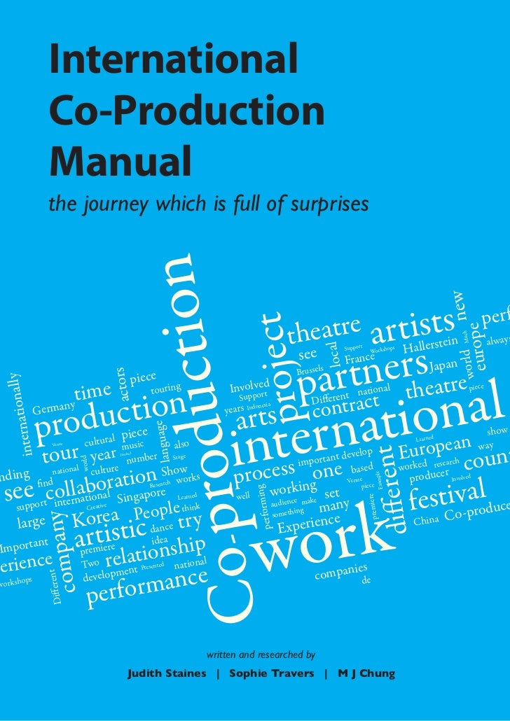 International                     Co-Production                     Manual                     the journey which is full o...