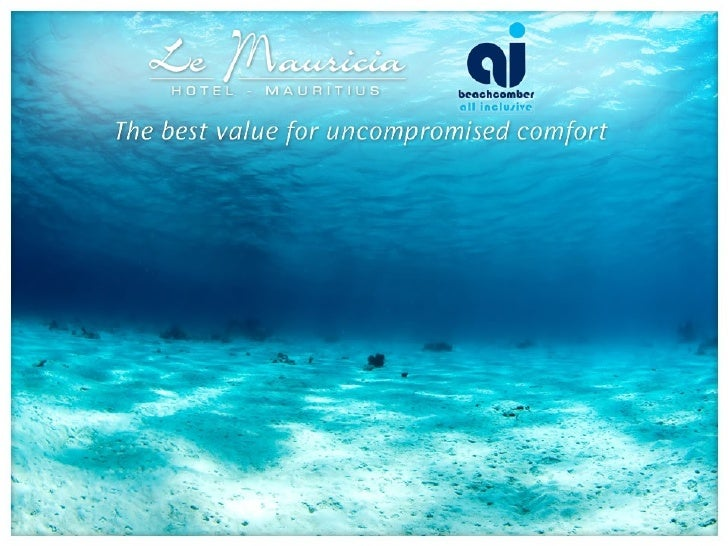 Le Mauricia   Beachcomber Resort