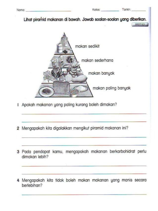Lembaran kerja B.Melayu Tahun 2