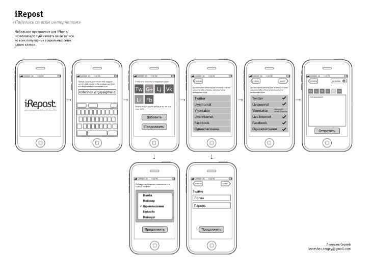 Lemeshev interface