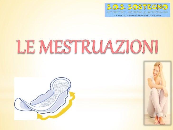 Le mestruazioni - esempio di lavoro per ragazzi con ritardo mentale