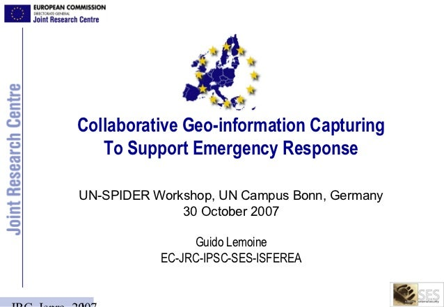 Collaborative Geo-information Capturing To Support Emergency Response