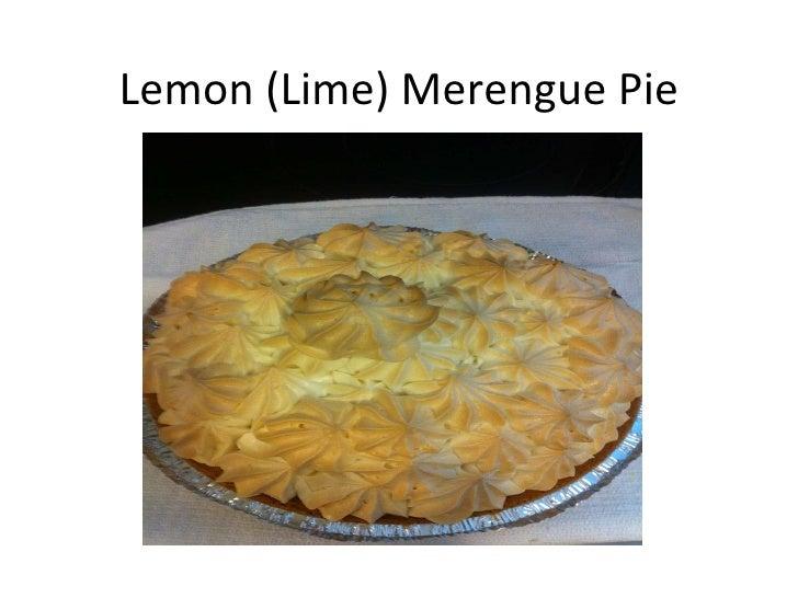Lemon (Lime) Merengue Pie