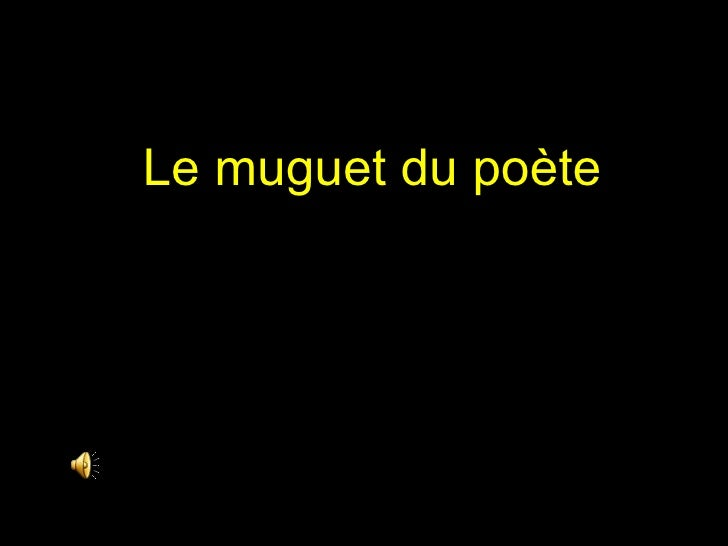 Le muguet du poète