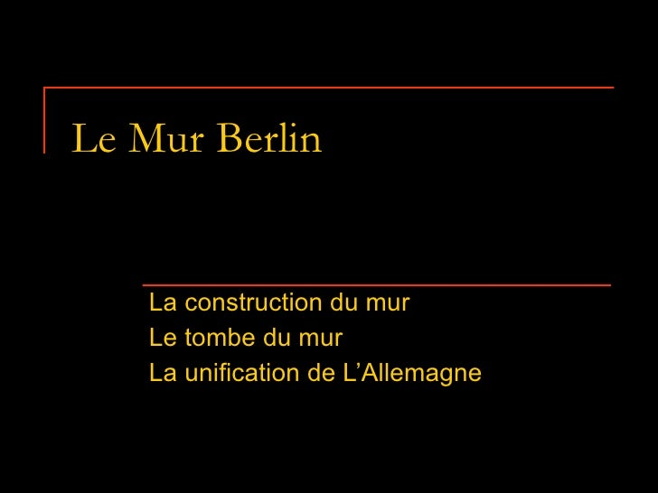 Le Mur Berlin