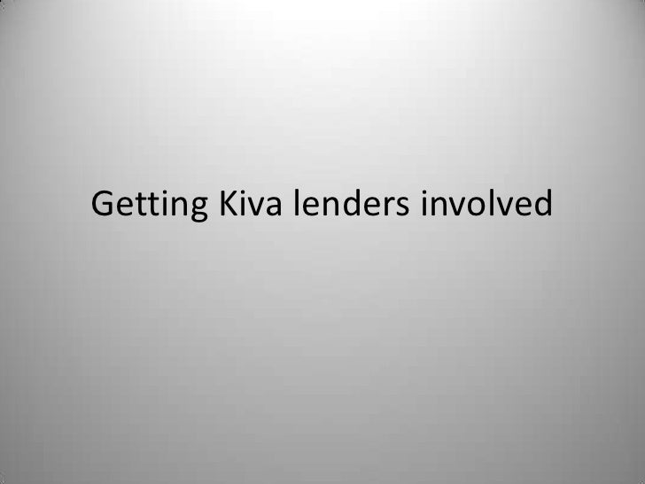 Lender Questions explanation