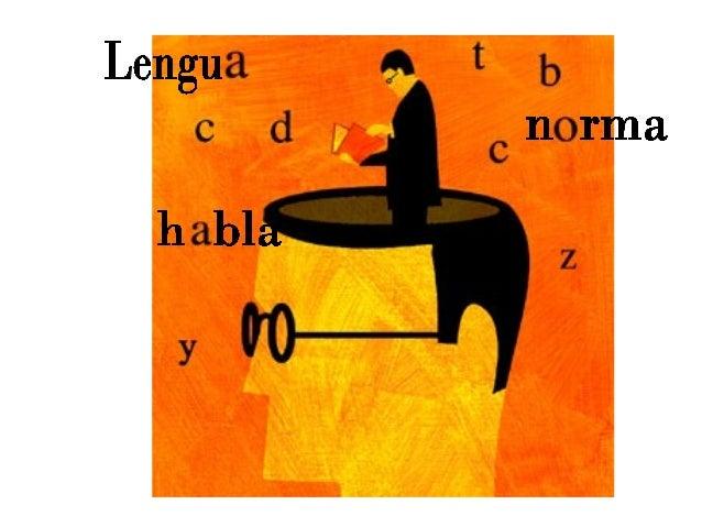 lengua habla: