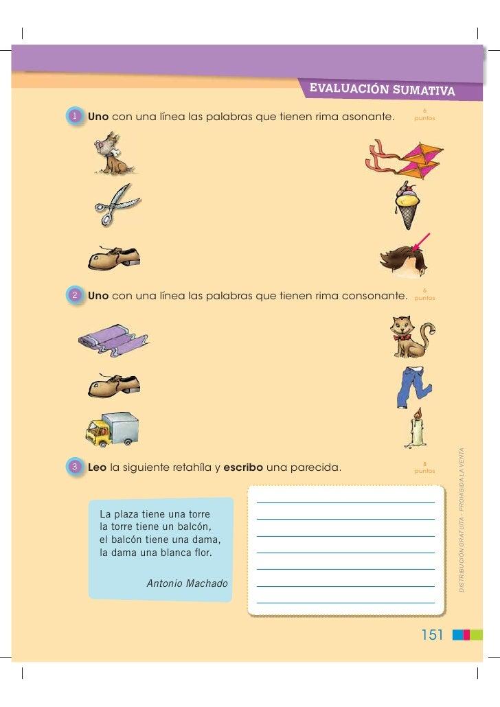 rimas palabras asonantes y consonantes?? | Yahoo Respuestas