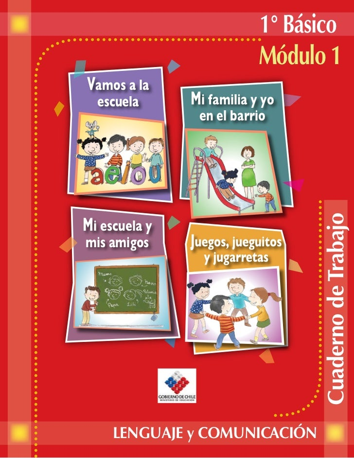 Lenguaje 1º básico módulo 1 alumno