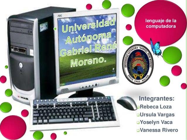 Lenguaje de la computadora