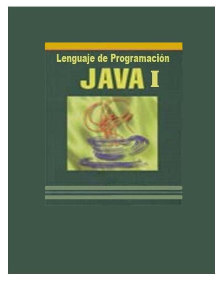 Lenguaje de programacion java prev