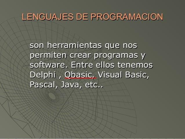 Lenguajes de-programacion