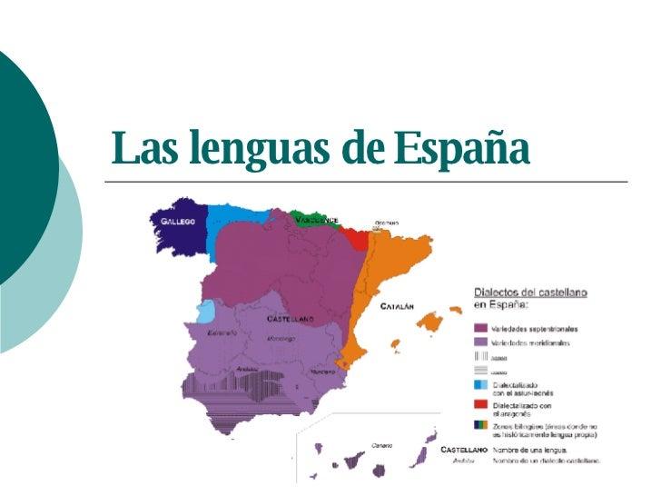 Las lenguas de España