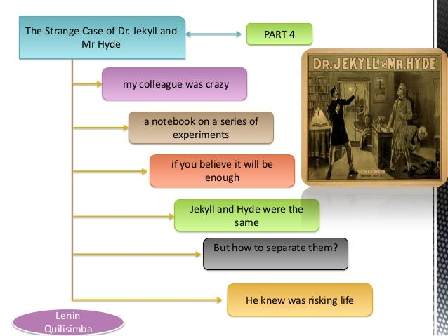 The Strange Case of Dr. Jekyll and Mr Hyde  PART 4  my colleague was crazy a notebook on a series of experiments if you be...