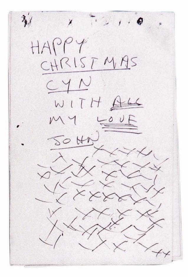 Extrait des Lettres de John Lennon 1