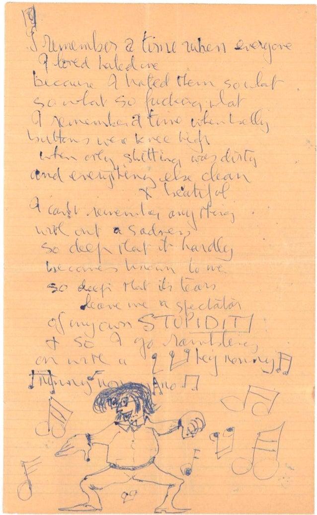 Extrait des Lettres de John Lennon 2