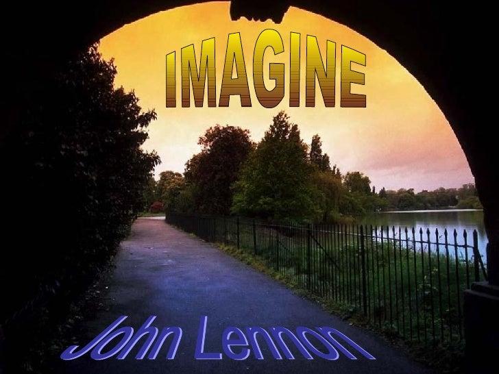 Lennons Imagine