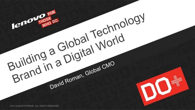 #MATI-Marketing & Ad:Tech Israel, David Roman, SVP and Chief Marketing Officer, Lenovo, February 11th, 2014, Tel Aviv