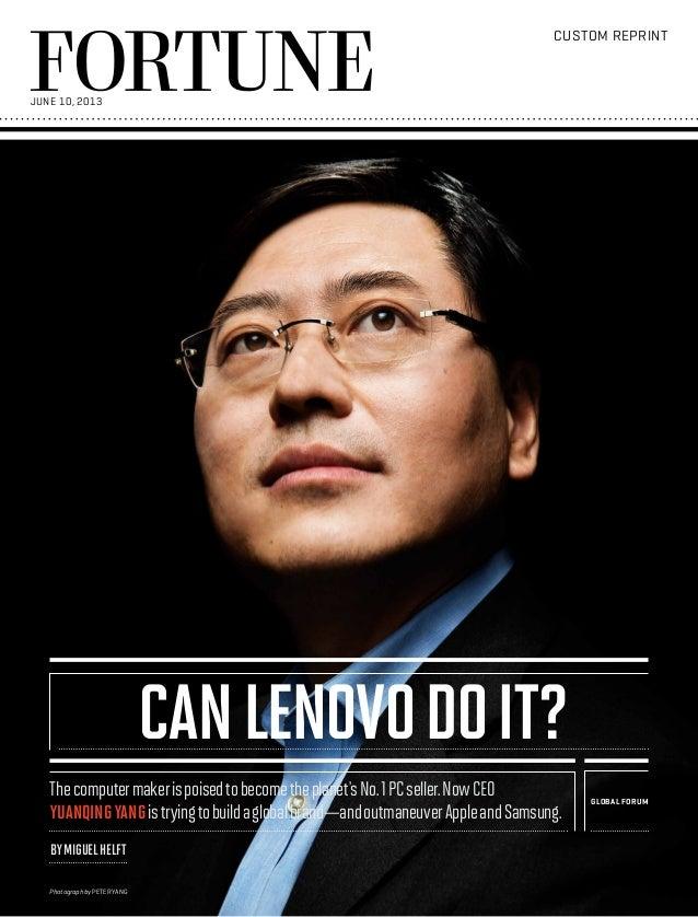 Lenovo Background Fortune