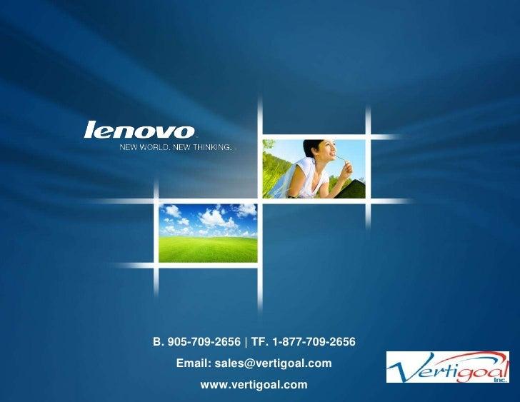 Vertigoal | Lenovo computer products & solutions