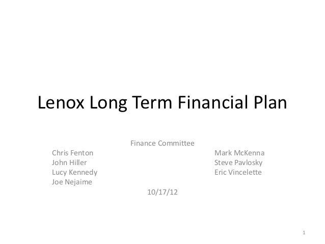 Lenox Financial Forecast v3