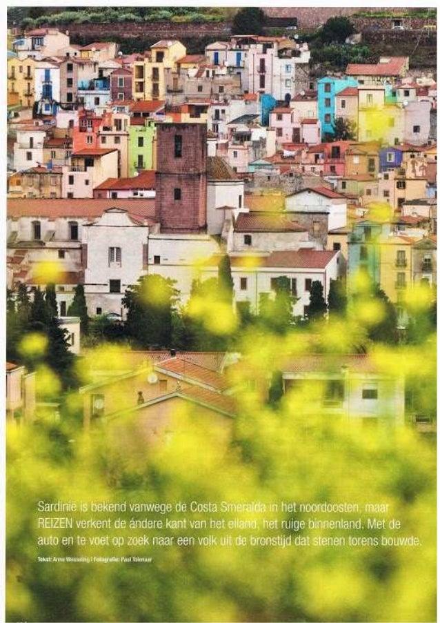 Lente op Sardinie -  Reiz Magazine (juni 2013) - Sardinie Onbekend & Ongetemd