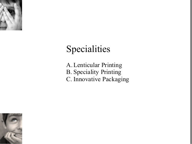 Lenticular Printing Services a Lenticular Printing b