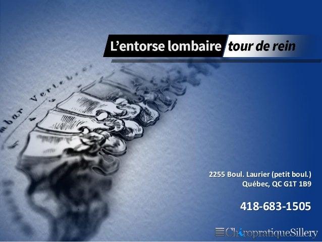 2255 Boul. Laurier (petit boul.) Québec, QC G1T 1B9  418-683-1505
