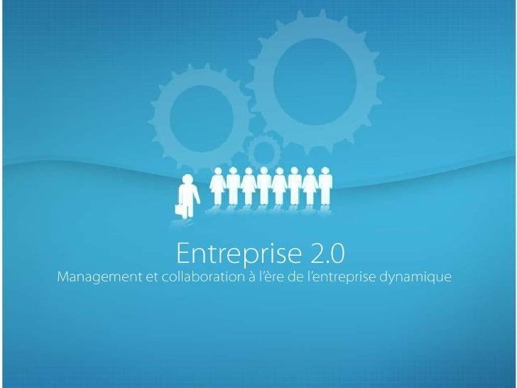 Problèmatique et objectifs Problématiques :  •   Comment créer un univers de collaboration en entreprise grâce aux outils ...