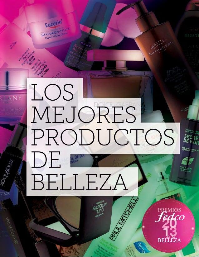 Catálogo Premios de la Belleza Fedco 2013