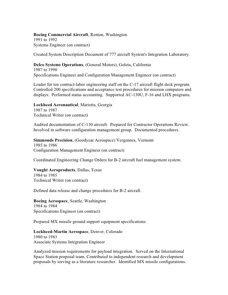 Configuration Manager Sample Resume