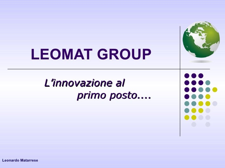 Leomat Group Graphics Leonardo Matarrese