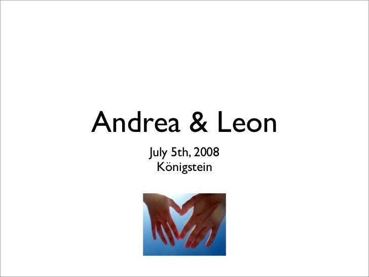 Leon & Andrea