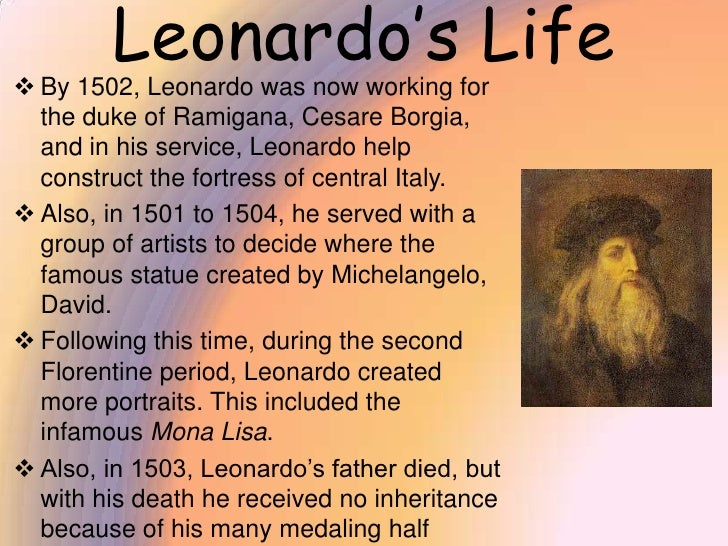 leonardo da vinci in our life How was the everyday life of leonardo da vinci update cancel ad by room key scout, a new chrome extension, tracks down lower hotel rates  what are some facts .