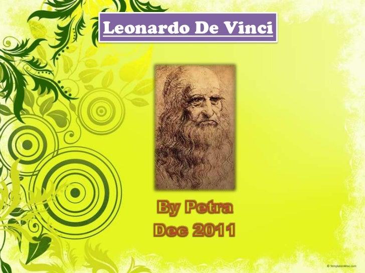 Leonardo da Vinci by petra