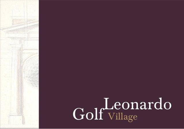 Leonardo golf village book whitebeach 2013 eng