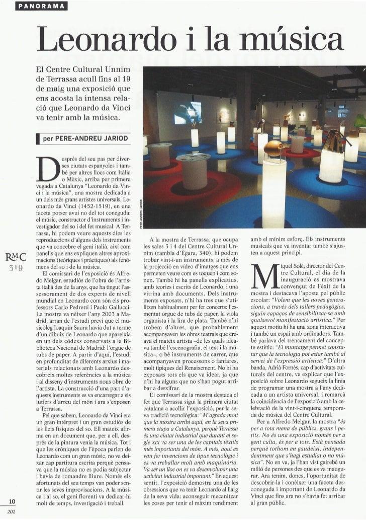 Leonardo i la música (2011 05) rmc319