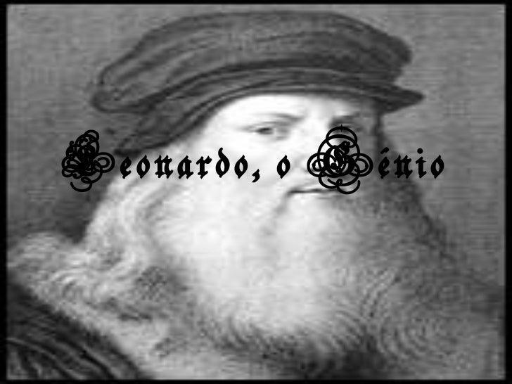 Leonardo, o génio