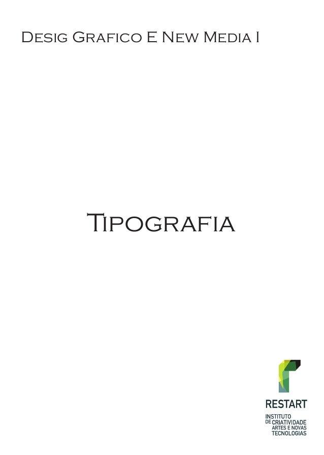 Tipografia Desig Grafico E New Media I