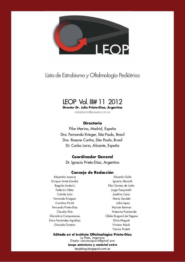 Leop Vol.III # 11