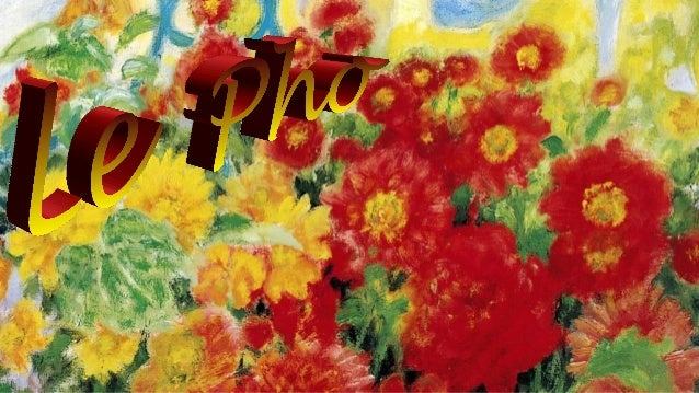 Le Pho (Vietnam 1902-2001) Flowers