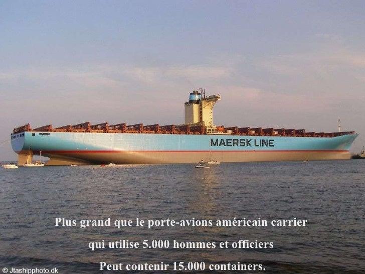 Le plus gros porte containers du monde - Le plus gros porte conteneur du monde ...