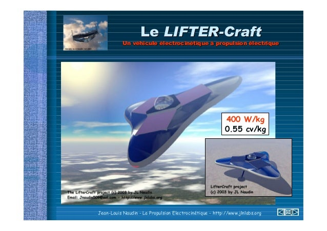 Le projet LIFTER (short slideshow)